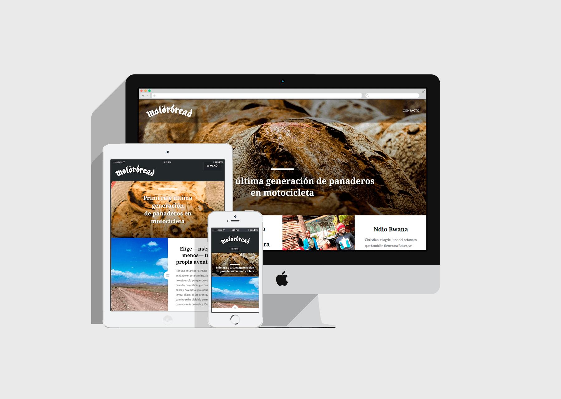 Website Motörbread
